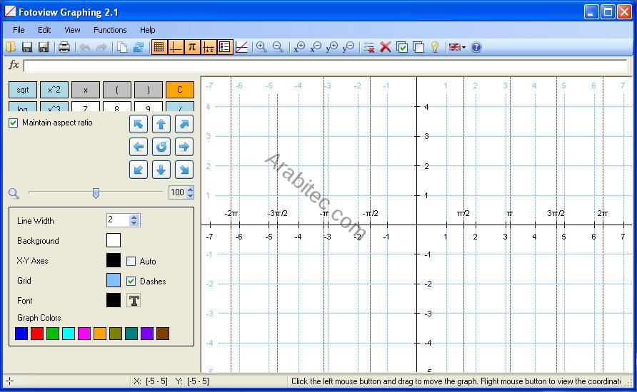 Fotoview Graphing
