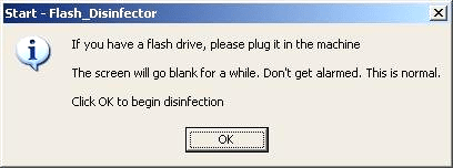 Flash Disinfector