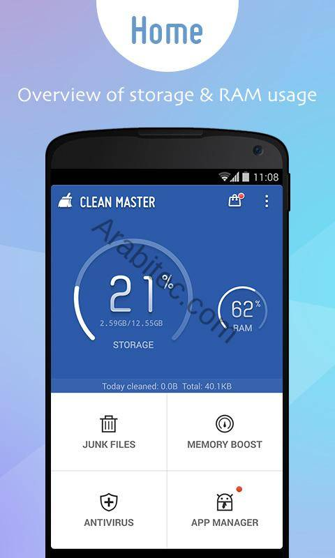 Clean Master Phone Boost HOME