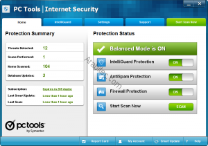 PC Tools Internet Security