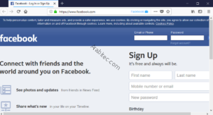 "إضافة : ""Facebook Container Extension"""