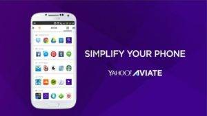 تطبيق Yahoo Aviate Launcher