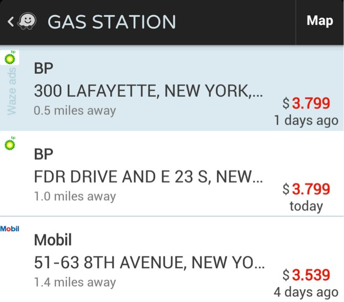 Gas Stations and Price