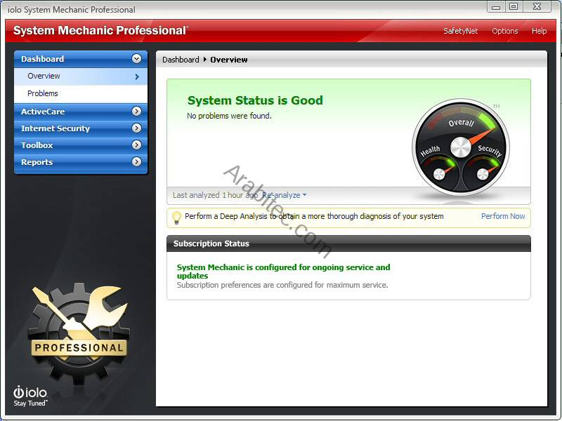 System Mechanic Professional 10.5.4