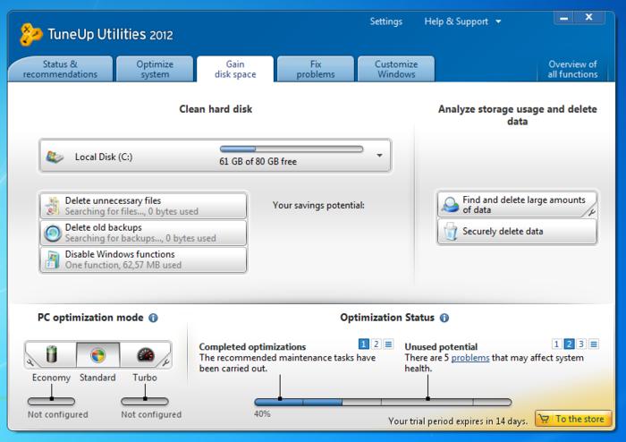 TuneUp Utilities 2012-1
