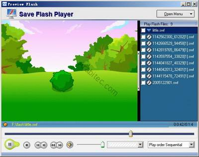برنامج Save Flash Player لحفظ الفلاش