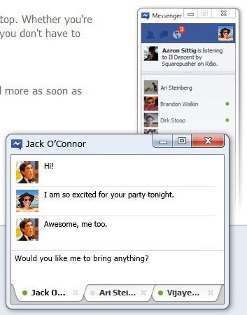 فيسبوك ماسنجر Facebook Messenger