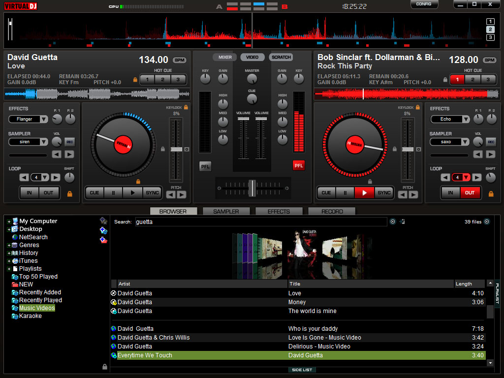 dj software free download for pc mixer 2012