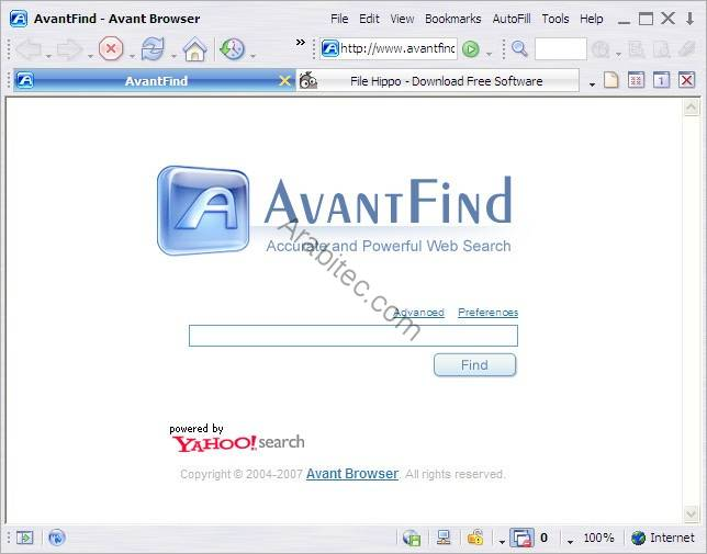 Avant Browser 2012