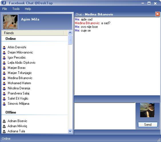 Facebook Chat @Desktop