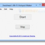 برنامج Jiveshwar's Wi-Fi Hotspot Maker