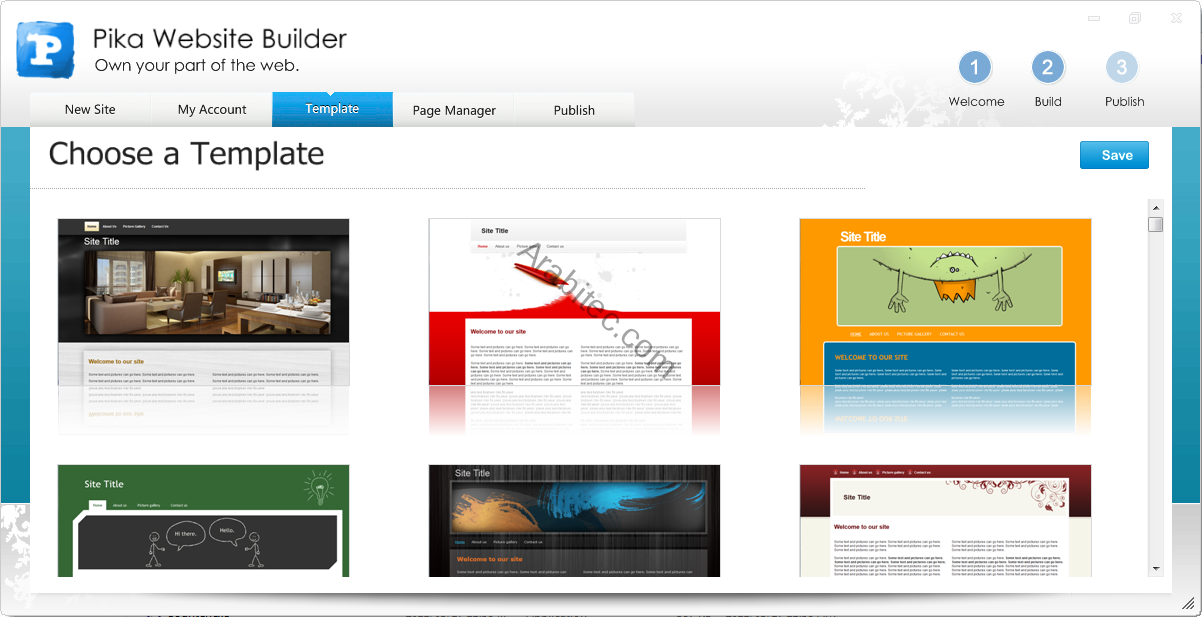 Pika Website Builder