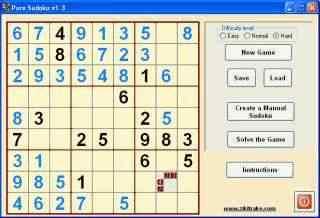 لعبة السودوكو Pure SUDOKU