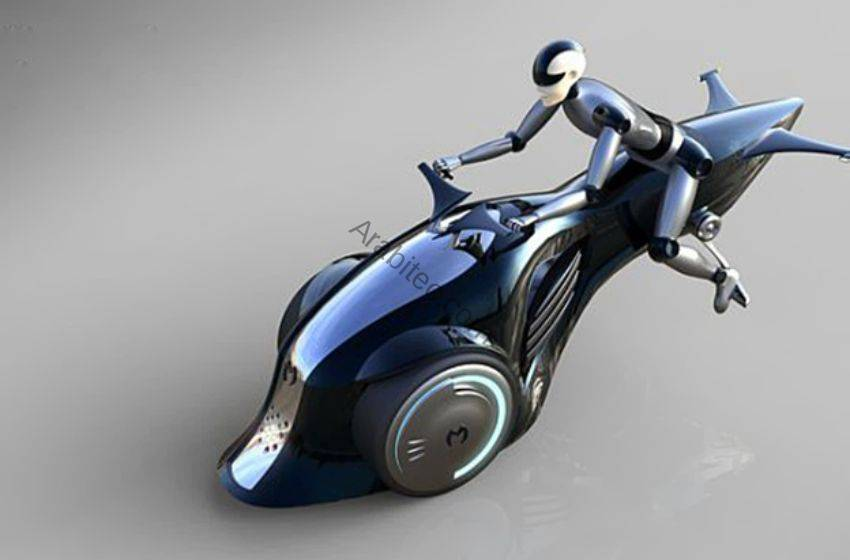 دراجة بمحركين كهربائي وآخر خاص بالطائرات