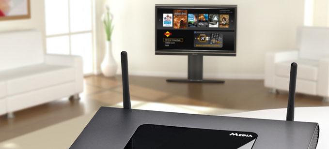 تلفزيون متصل بالانترنت