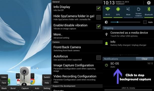 Spy Camera OS
