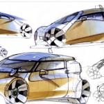 ميكرو تاكسي سيارة المستقبل (7)