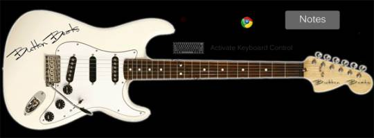 ButtonBeats Virtual Guitar