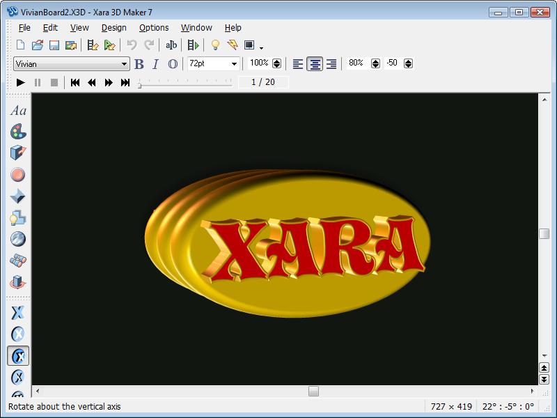 Xara 3D Maker7