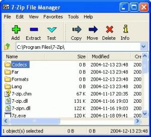 7zip , برنامج سفن زيب, برنامج فك ضغط الملفات, برنامج ضغط الملفات, برنامج زيب, برنامج رار, برنامج تار, zip,rar,tar