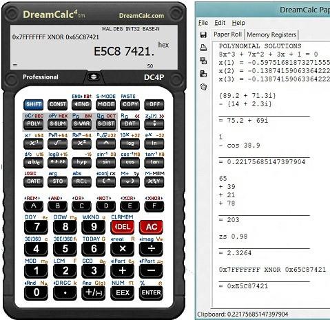 DreamCalc Scientific Calculator