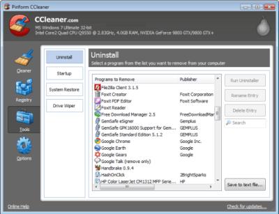 تحميل برنامج كلينر ccleaner 2014