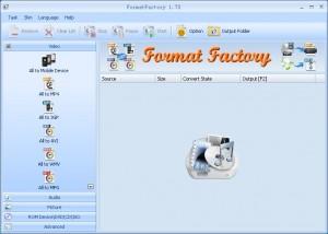 Format Factory, FormatFactory, فورمات فاكتوري, برنامج تحويل الفيديو, برنامج تحويل الاوديو, برنامج تحويل الملفات الصوتية, برنامج تحويل الصور