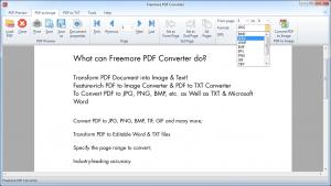 Freemore PDF Converter