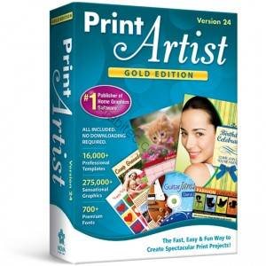 Print Artist Gold 24