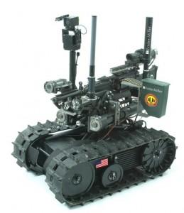 SWORDS Weaponized Robot