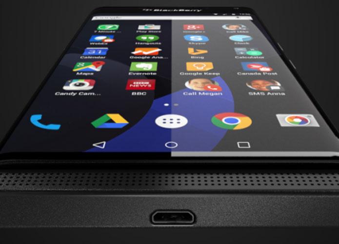 BlackBerry Venice يعمل بنظام أندرويد