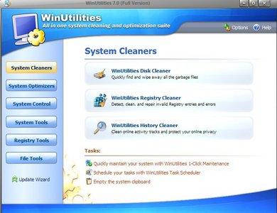 WinUtilities Professional 1