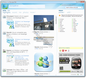 Windows Live Messenger 2011-1