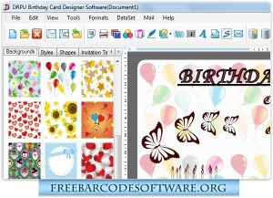 Birthday Cards Designing Software