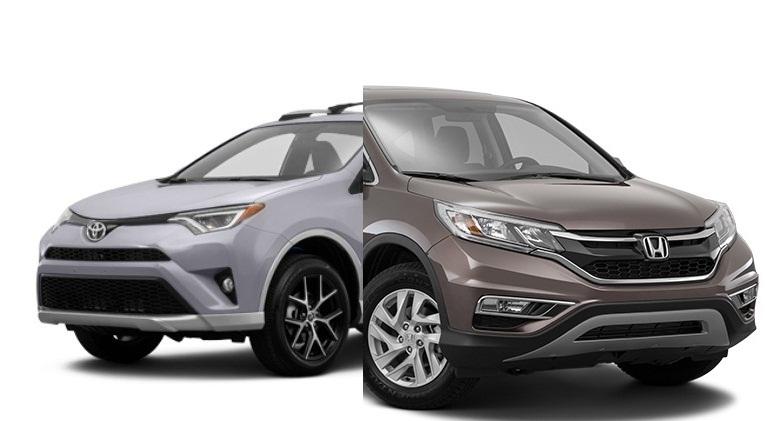 مقارنة بين تويوتا راف فور 2016 و هوندا CR-V 2016