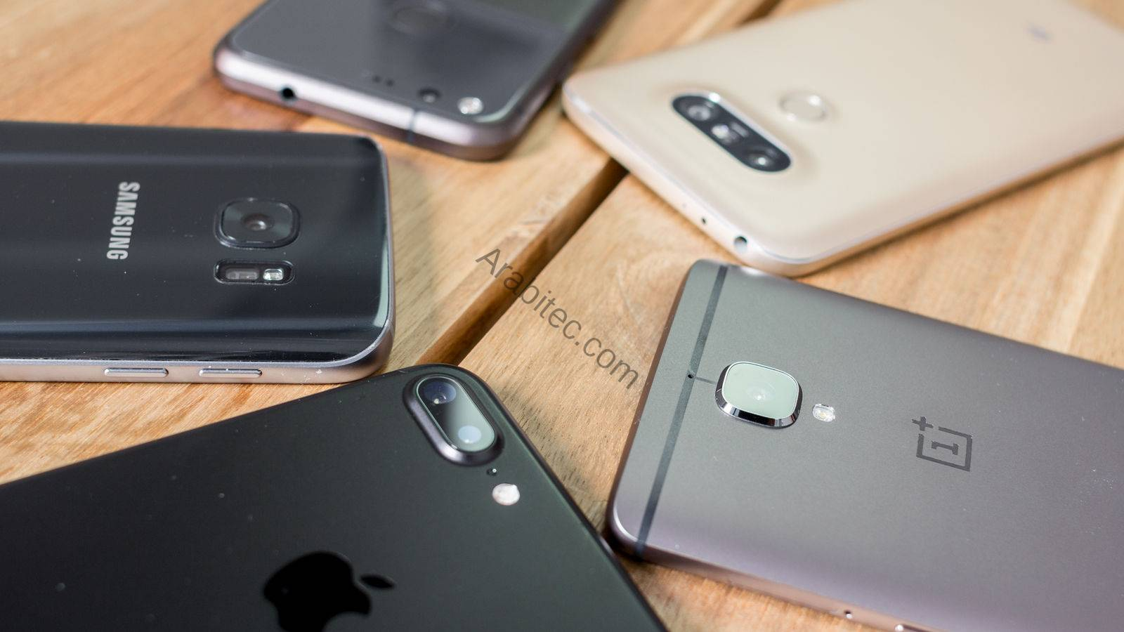 أفضل 5 هواتف 2017