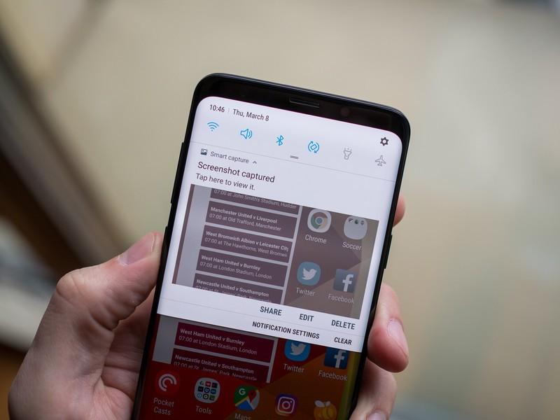 how to take screenshot on galaxy s9 لقطة شاشة على سامسونج Galaxy S9