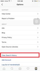 How to Clear Search History On Instagram مسح سجل البحث على انستغرام