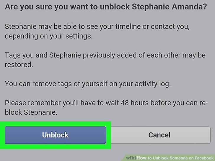 How to Unblock Someone on Facebook كيفية الغاء الحظر على فيسبوك