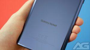 شريط التنقل لغالاكسي Note 9