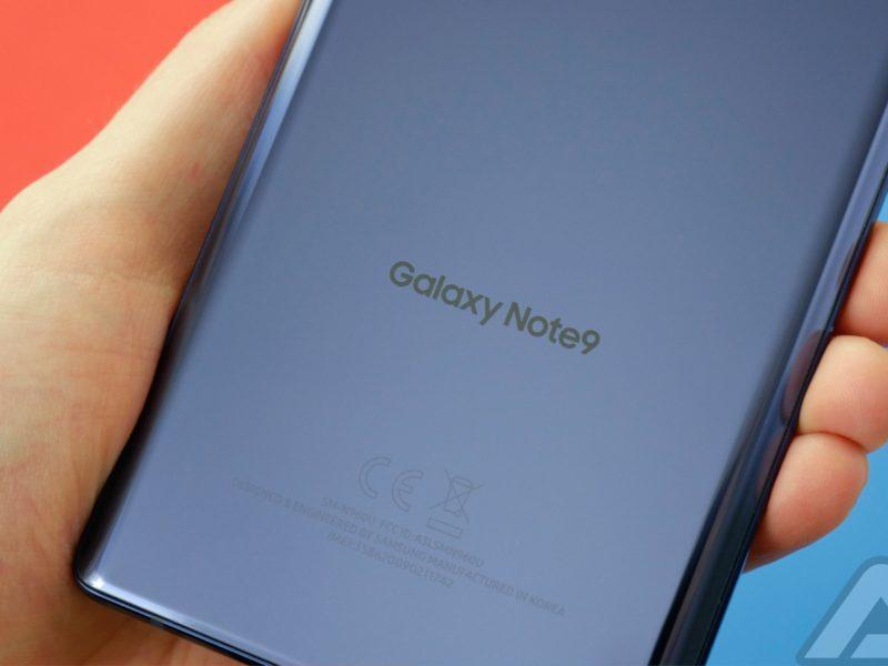 شريط التنقل لغالاكسي Note 9 | تعلم كيفية تغيير شكله ولونه