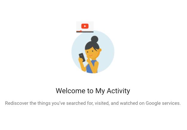 مسح سجل غوغل