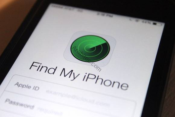 تطبيق Find My iPhone