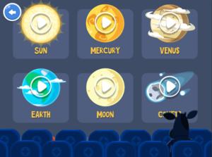 Astronomy for Kids - تطبيقات فلكية