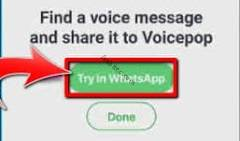 Try in WhatsApp