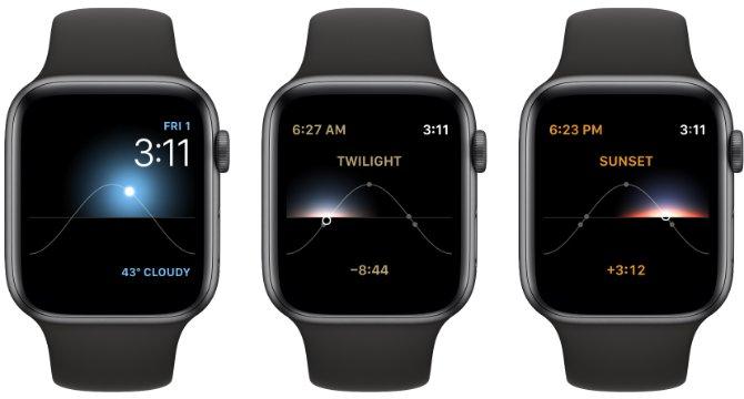 Apple Watch Face - Solar