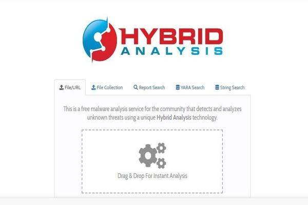 برنامج Hybrid Analysis