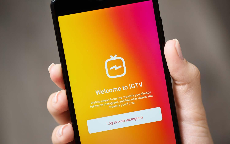 خدمة IGTV