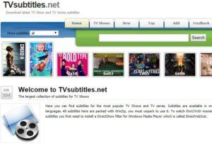 TVSubtitles