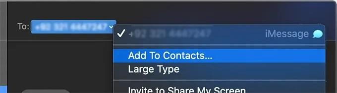 macOS Block caller